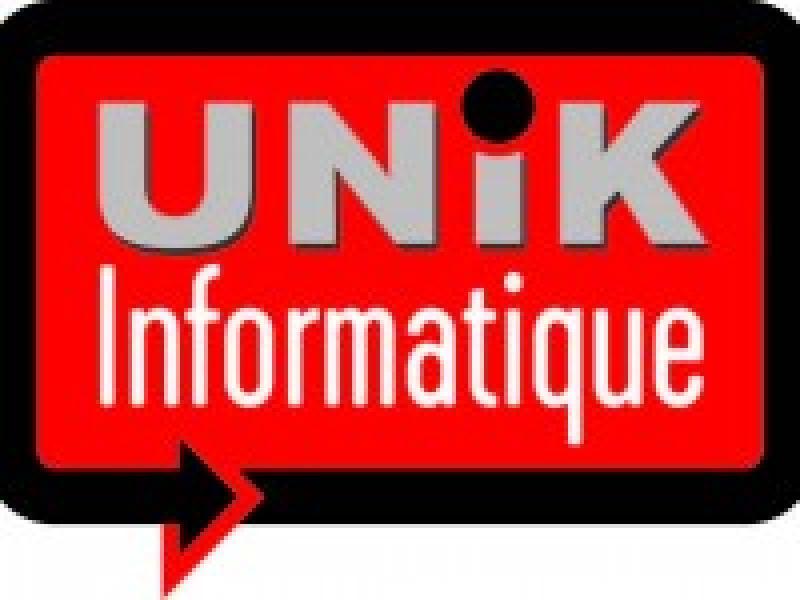 Identité de marque : création du logo UNIK informatique