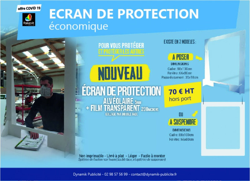 Ecran de protection Economique