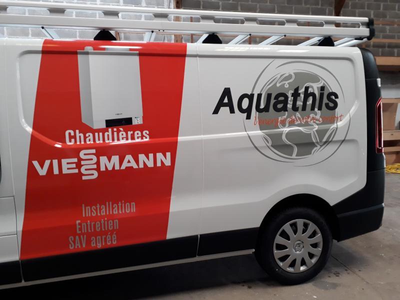 Fourgon Trafic Entreprise Aquathis