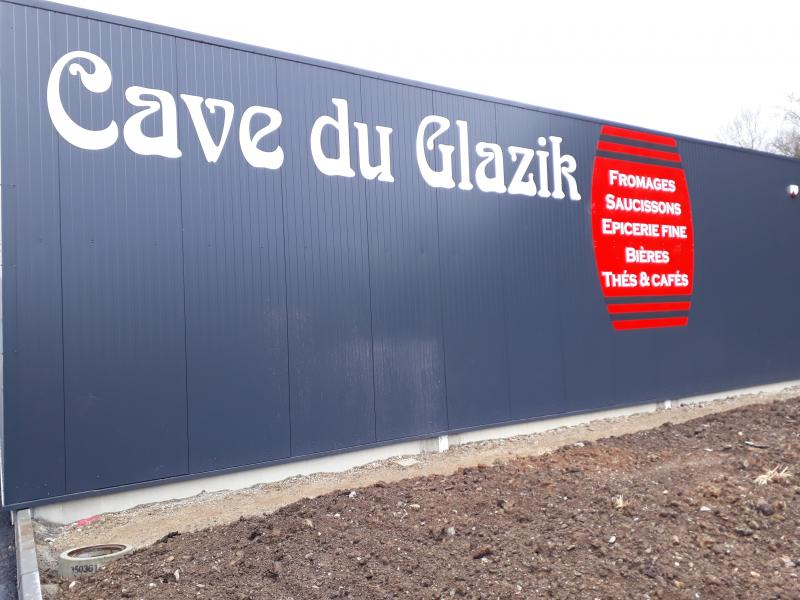 Enseigne pour La Cave du Glazik