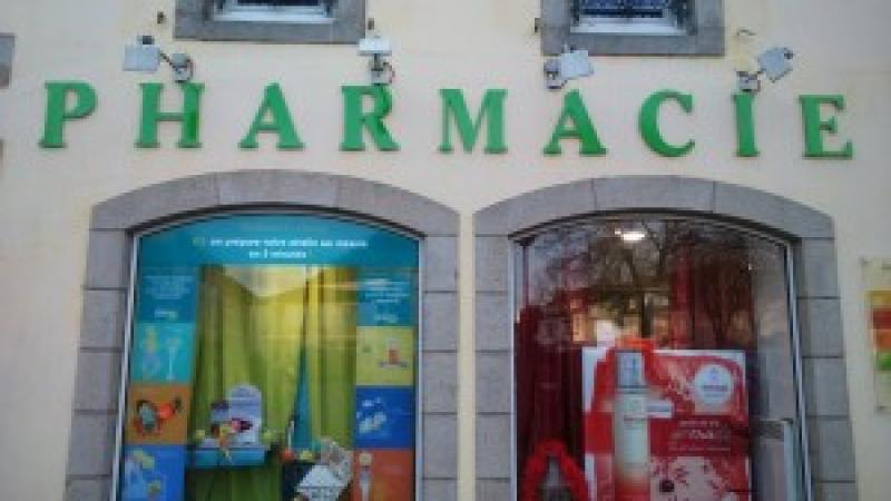 Relooking enseigne Pharmacie Glazik Briec